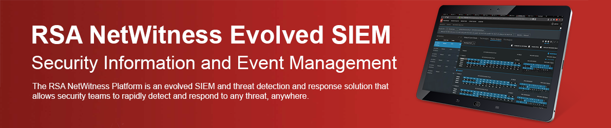 RSA NetWitness Evolved SIEM